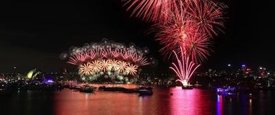 大晦日の花火 by City of Sydney