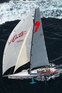 優勝したWild Oats  by Rolex Sydney Hobart