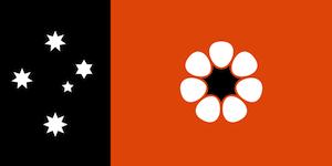ノーザンテリトリーの旗