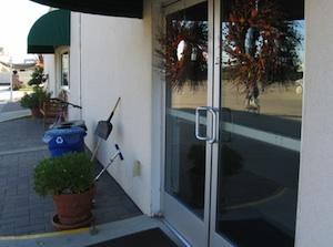 ダイニングの玄関