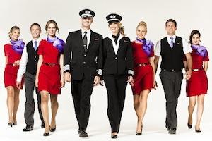 バージンオーストアリアの制服 by Australia Business