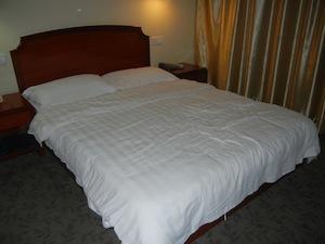 上海で泊まった部屋