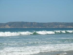 南カルフォルニアの海
