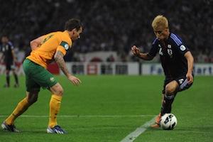 対日本と試合より by football.com.au