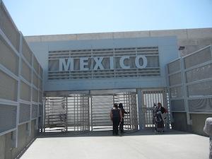 メキシコの入り口