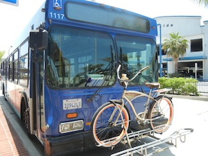 NCTDのバス395番