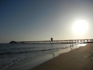 シールビーチの桟橋