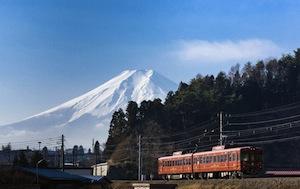 富士山 by 日本経済新聞