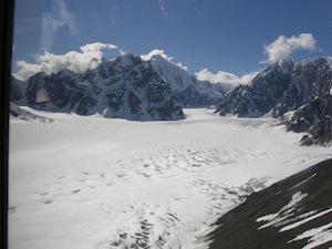 デナリの氷河