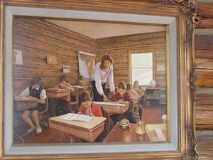 トラッパークリークで教師をしていた頃の絵