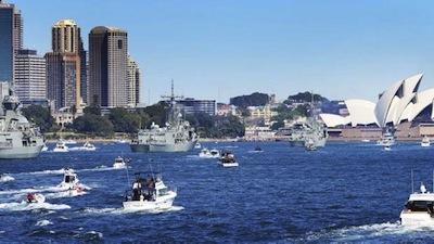 オーストラリア海軍100周年 by IFR HP