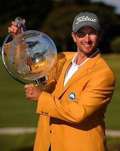 Australian Mastersで優勝したスコット選手