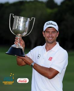 全豪プロゴルフ選手権優勝 アダム・スコット選手
