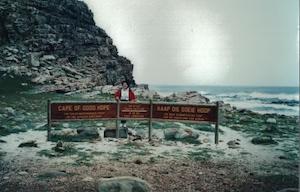 ケープタウンにて@1993南アフリカ旅行