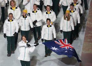 オーストラリア選手団