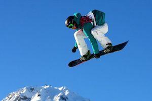 ジェームス選手(スロープスタイル)@Sochi2014