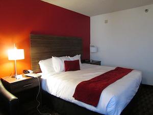 Dホテルの部屋