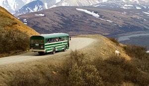 デナリ国立公園のシャトルバス by NPS