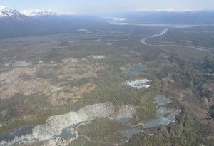 アラスカの広大な景色