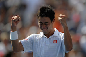 錦織選手の感動シーン by US Open