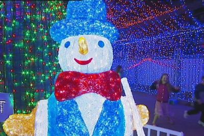 Cristmas Light @Canberra by ABC News