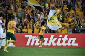 勝利したオーストラリア『サッカルーズ』