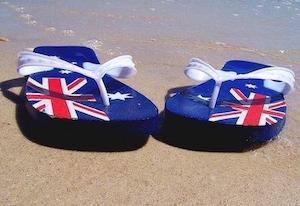 ゴム草履はオーストラリアの発明です。