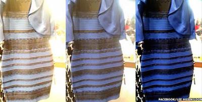 このドレス何色に見えますか?