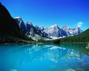 カナダで一番好きな景色 モレーンレイク