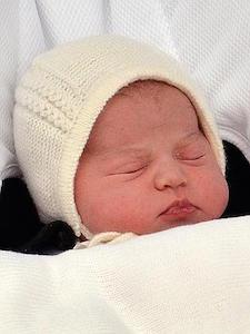 シャーロットオブケンブリッジ王女