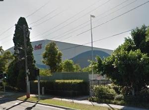 コカコーラの工場
