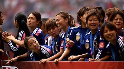 オリンピックに向かって『頑張れなでしこジャパン』