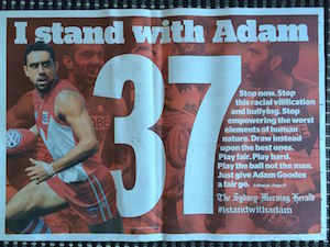 I stand with Adam