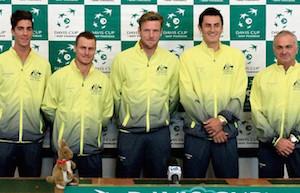 オーストラリアデビスカップチーム