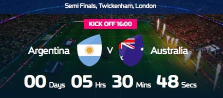 オーストラリア対アルゼンチン
