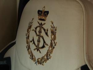 スルタンの紋章(金のステッィいり)