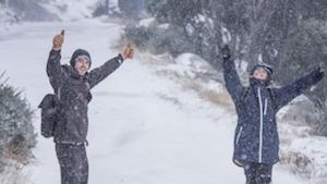雪が積もったスノーウィーマウンテンズ by SMH
