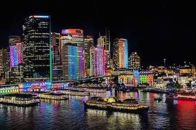 レインボーに彩られたシドニー
