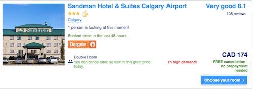 予約したホテル by Booking.com