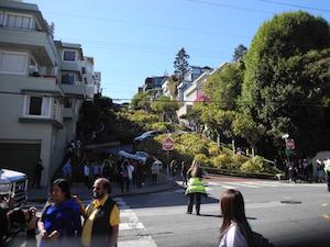 サンフランシスコの街角
