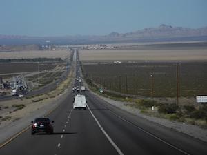 ラスベガスまでのハイウェイ